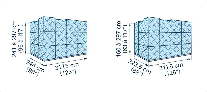 Les palettes les plus utilisées pour le fret aérien