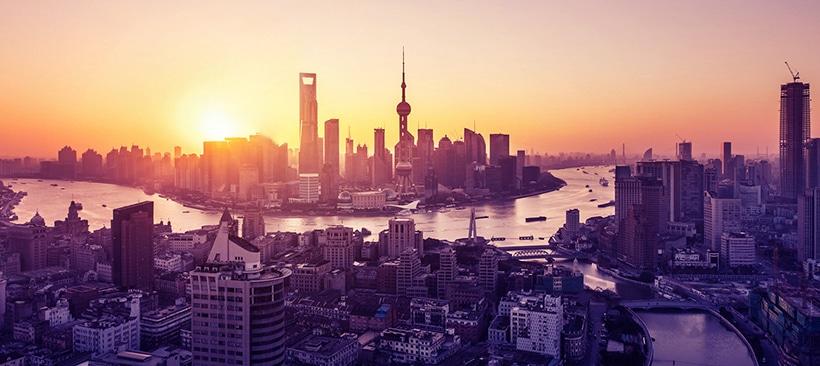horizon de shanghai, une ville international et ses nombreux services
