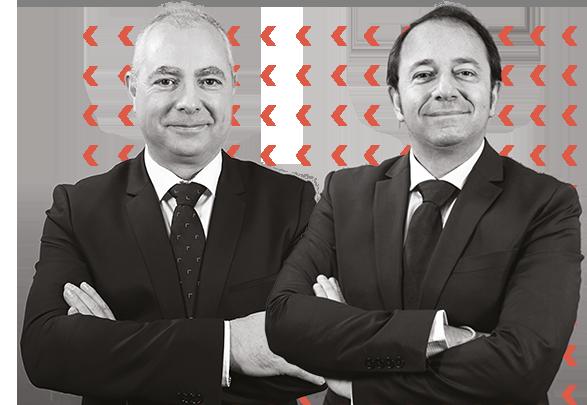 Hervé et Jérôme, les dirigeants de TEAMCDG et GES, societés de fret de marchandises