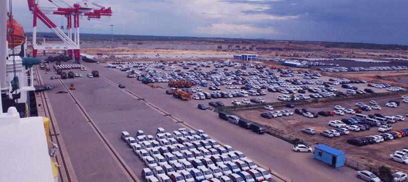 transport de véhicules par freight aérien