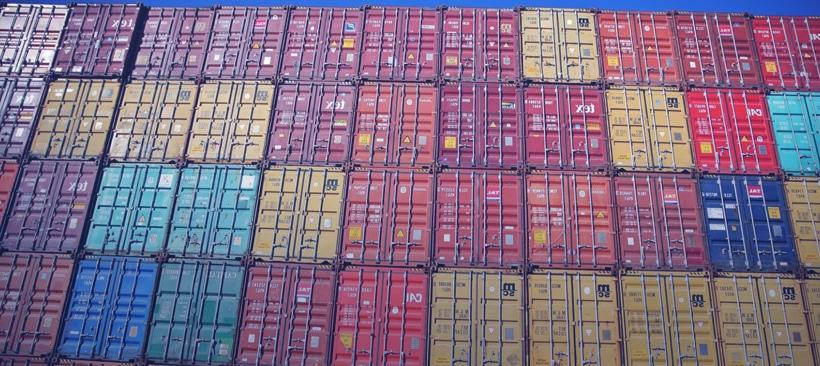 Conteneurs de transport maritime